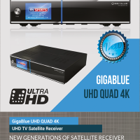 GigaBlue UHD Quad 4K + Single DVB-S2x...